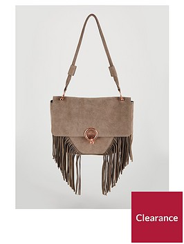 michelle-keegan-suede-tassel-bag