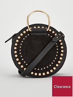 v-by-very-portia-studded-round-bracelet-bag-black