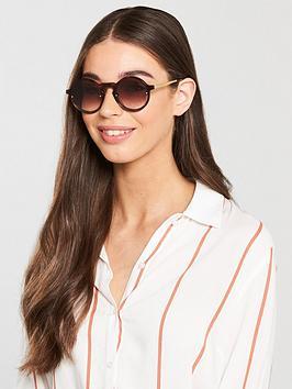 Mcq Alexander Mcqueen Round Sunglasses - Havana