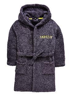 854e629a96 V by Very Snoozin Soft Touch Fleece Robe