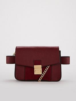 V By Very Felicity Belt Bag - Burgundy