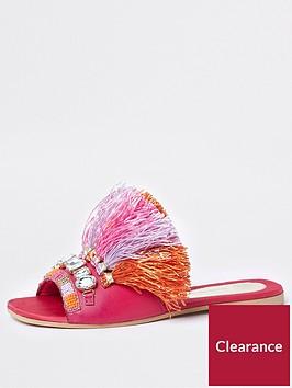 river-island-raffia-tassel-slides-pink