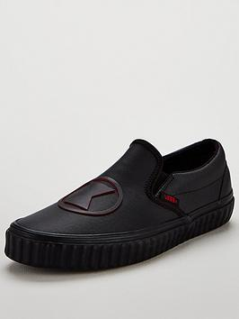Vans Classic Slip-On Marvel Black Widow - Black