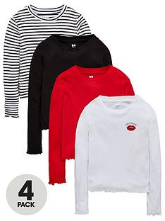 v-by-very-girls-4-pack-long-sleeve-t-shirts-multi