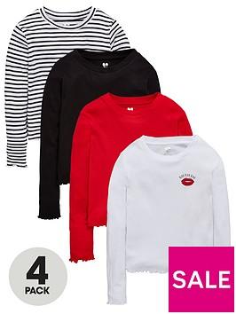 v-by-very-girls-4-pack-long-sleeve-t-shirts-multi