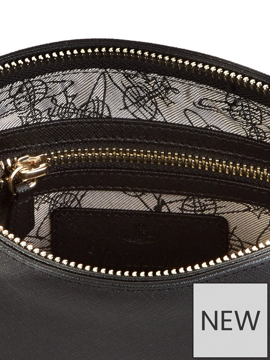 a2fad862872 ... VIVIENNE WESTWOOD Victoria Square Cross-Body Orb Bag - Black. 2 people  are looking at this right now.