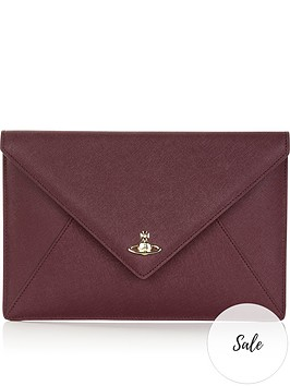 vivienne-westwood-private-envelope-pouch-burgundy
