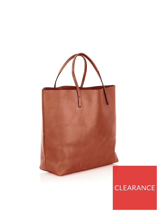 b07c4bc662 VIVIENNE WESTWOOD Greek Eyes Leather Africa Shopper Bag - Burnt Orange