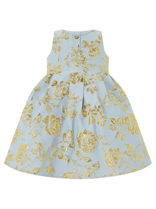db5f8701a Monsoon Baby Delphine Jacquard Dress | very.co.uk