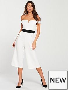 ax-paris-bardotnbspneckline-contrast-waist-culotte-jumpsuit-whitenbsp