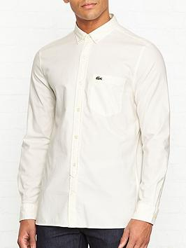 lacoste-live-brushed-oxford-shirt-off-white