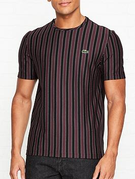 lacoste-live-striped-crew-neck-t-shirt-burgundy