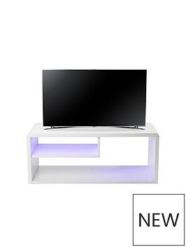 newton-high-gloss-tv-unit-with-led-lights-fits-up-to-42-inch-tv