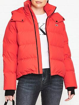 lacoste-live-water-repellent-padded-jacket-red