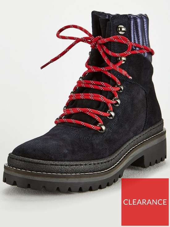 e1f48e2be469 Tommy Hilfiger Modern Hiking Ankle Boot - Midnight