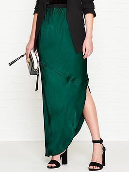 by-malene-birger-aliviay-asymmetricnbspmidi-skirt-green