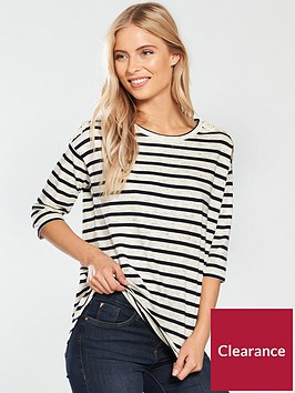 v-by-very-striped-crochet-shoulder-detail-top