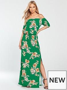 v-by-very-bardot-jersey-maxi-dress-green-print