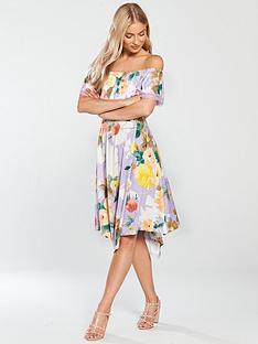 v-by-very-bardot-hanky-hem-jersey-midi-dress-printed