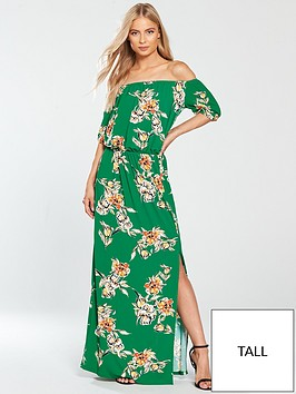 v-by-very-tall-bardot-jersey-maxi-dress-green-print