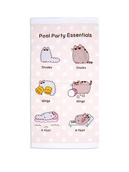 pusheen-party-towel
