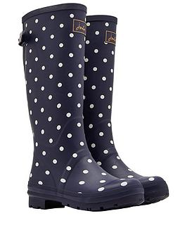 joules-joules-welly-print-adjustable-back-gusset
