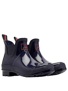 joules-wellibob-gloss-ankle-wellynbsp--navy