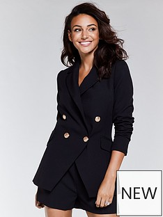 michelle-keegan-double-breasted-co-ord-jacket-blacknbsp