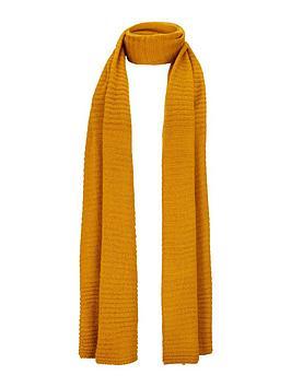 v-by-very-ebonee-plain-ribbed-scarf-mustard