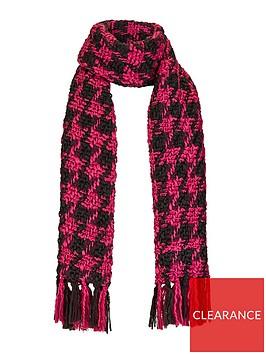 v-by-very-emily-dogtooth-scarf-blackpink