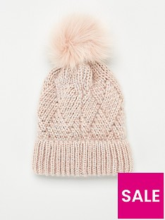 v-by-very-raina-lurex-thread-knitted-beanie-pink