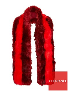 v-by-very-ella-faux-fur-scarf-rednbsp