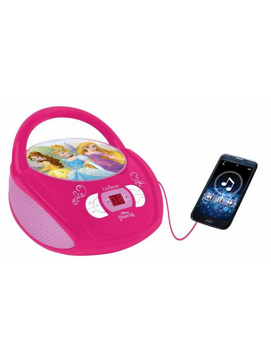 Disney Princess Radio CD Player Boombox