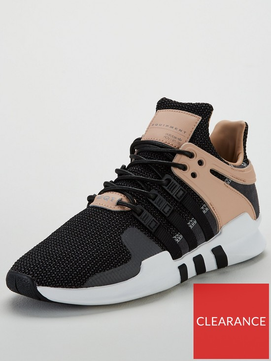 size 40 1b517 116cb adidas EQT Support ADV - Black Grey Pink   very.co.uk