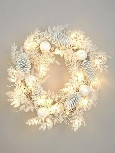 pre-lit-winter-white-christmas-wreath
