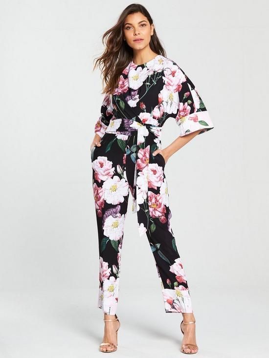 ed5dd0c1f Ted Baker Neptone Iguazu Kimono Sleeve Jumpsuit - Printed