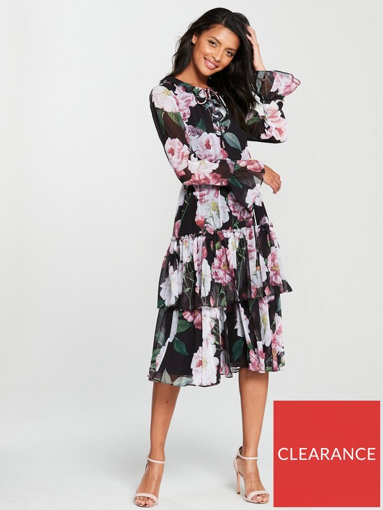 91370a012 Ted Baker Betssie Iguazu Midi Dress