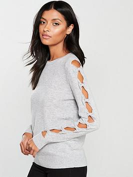 ted-baker-ted-baker-danikka-bow-sleeve-knitted-jumper