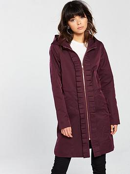 ted-baker-ted-baker-zowe-sateene-ruched-detail-hooded-parka