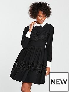 ted-baker-haeden-collared-full-sleeve-dress-black