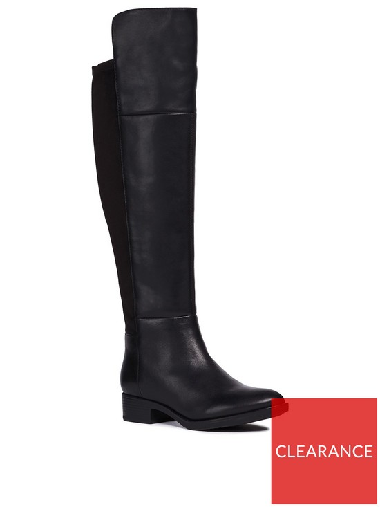 d92d3d61b1 Geox D Felicity G Over The Knee Boot | very.co.uk