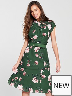phase-eight-helena-floral-dress-jade