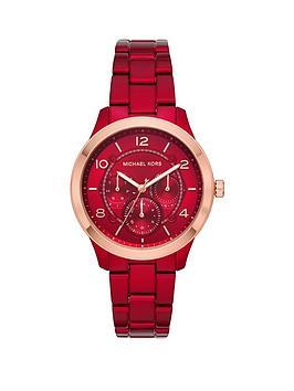 michael-kors-mk6594-runway-red-chronograph-bracelet-ladies-watch