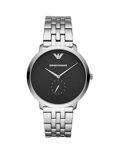 emporio-armani-stainless-steel-dress-bracelet-mens-watch