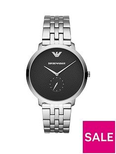 emporio-armani-stainless-steel-dress-bracelet-mens-watch