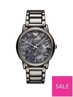 emporio-armani-gunmetal-stainless-steel-dress-braceletnbspmensnbspwatch
