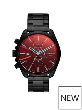diesel-diesel-ms9-chrono-black-ip-with-iridescent-dial-mens-watch