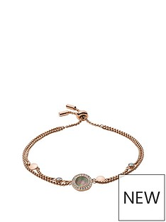 fossil-fossil-rose-gold-tone-amp-grey-mother-of-pearl-stainless-steel-ladies-bracelet