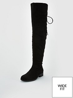 v-by-very-wide-fit-lacey-lace-back-flat-over-the-knee-boot-black