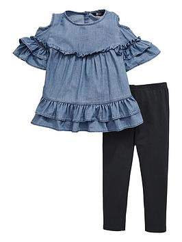 mini-v-by-very-tencel-cold-shoulder-top-amp-legging-outfit
